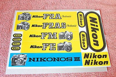 Instructions and guides NIKON LOGO F2A