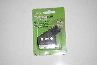 16 Stück Audio Video Adapter Scart Stecker auf  6 polig