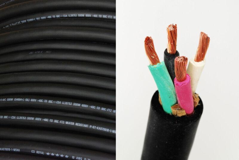 14/4 SOOW SO Cord Per-Foot USA Portable Outdoor Indoor 600 V Flexible Wire cabl
