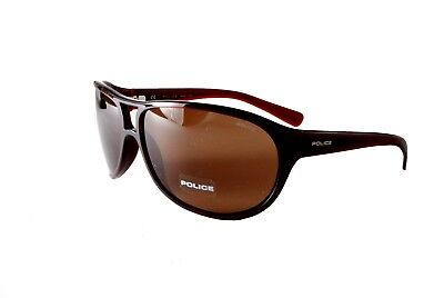 Police Sunglasses Spectrum 2 S1864M 0Z90 Brown Brown