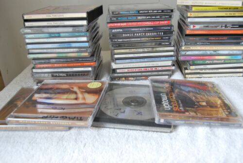 Various Lot of 40+ Used Cds POP Popular Soul Dance Movies Others Large Lot