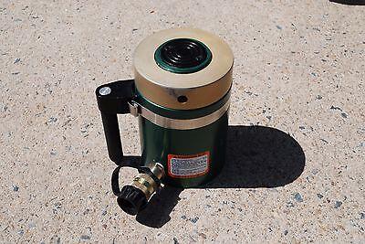Simplex Ral-502 Aluminum Hydraulic Cylinder 50 Ton 2 Stroke Locking Nut New