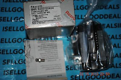 Bosch Rexroth R200122404 Ball Carriage Nrii New