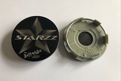 Cap Deckel (Barracuda Starzz Nabendeckel Felgendeckel Center Cap 60mm C001 1 Stück NEU)
