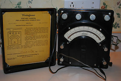 Westinghouse Py-5 Amp Meter