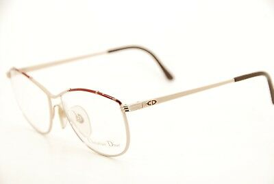 New Authentic Christian Dior CD 2680 41 Gold/Brown 56mm Austria Eyeglasses RX