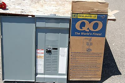 100a Main Breaker - SQUARE D QO327M100RB 100A 3 PH  CIRCUIT BREAKER PANEL RAINPROOF OUTDOOR MAIN INC