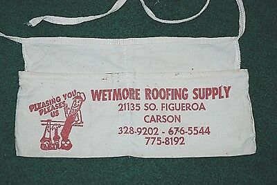 Used, Wetmore Roofing Supply Construction Nail Apron Pleasing You Pleases Us Hammer  for sale  Port Ludlow