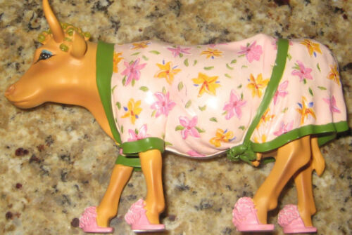 "2000 COW PARADE #9129 ""EARLY SHOW"". RARE!"