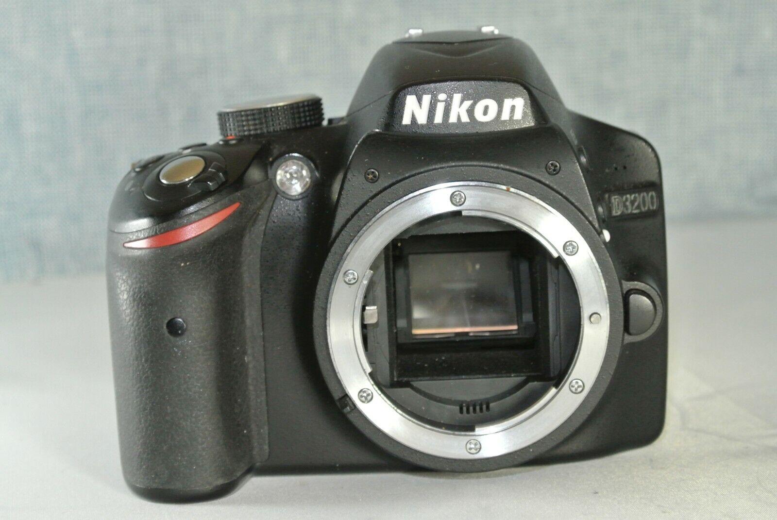 Nikon D3200 24.2 MP Digital SLR Camera - (Body with Accessories)