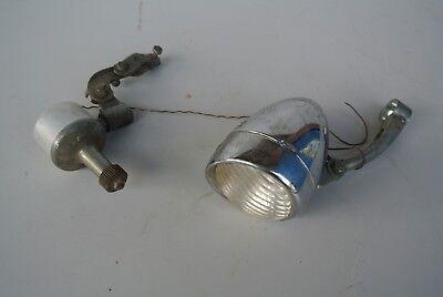 Alte Fahrradlampe Scheinwerfer DAIMON mit Dyanamo Oldtimer