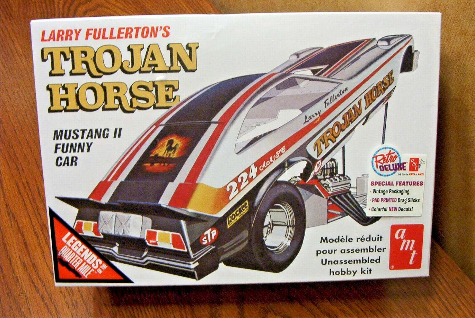 AMT Larry Fullerton's Trojan Horse Mustang II Funny Car Mode