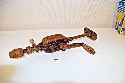C157 Ancien outil - perforateur perceuse - old tools - circa 1930