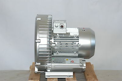 Regenerative Blower 2.3hp 150cfm 72h2o Press 220v1ph Side Channel Blower
