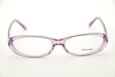 New Authentic Prada Glasses VPR15M ZYE-1O1 Lilac 54mm Frames Eyeglasses (Prada Glasses Frames Women)