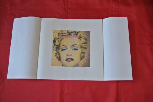 "Rare Madonna Celebration Warner Mexico 12.5"" X 12.5"" Promo Lithograph 465/1500"