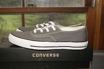 Converse Chuck Taylor Clean CVO Ox Gray Charcoal White Sz 8