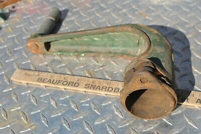 Original Fairbanks Morse Z 6 Hp Hit Miss Gas Engine Cast Iron Hand Crank