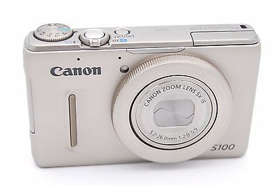 Canon PowerShot S100 12.1 MP Digital Camera - Silver for sale  Shipping to India