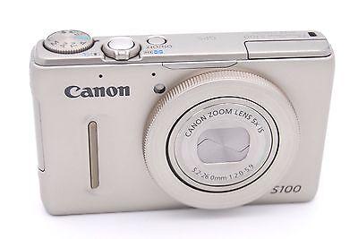Canon Powershot S100 12.1 Mp Digitalkamera - Silber (Canon S100)