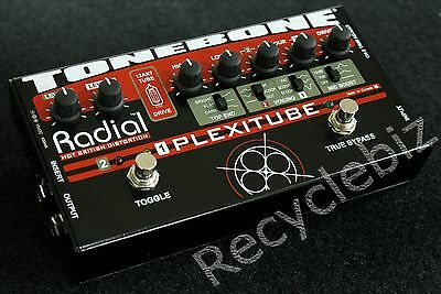 Plexitube 12AX7 Tube Distortion Guitar Pedal By Radial ToneBone