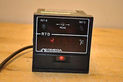 Omega Rtd 4201-p-f2 Digital Athena Temperature Control 4201pf2
