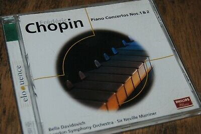 "CHOPIN / MARRINER ""Piano Concerto Nos.1&2"" CD / PHILIPS - 468117-2"