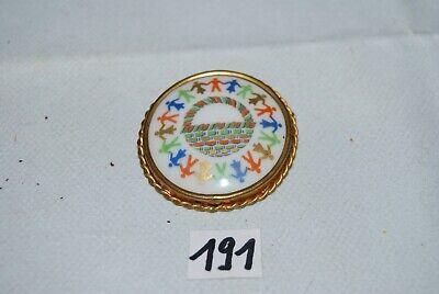 C191 Bijou - Ancienne broche - camée - Limoges France