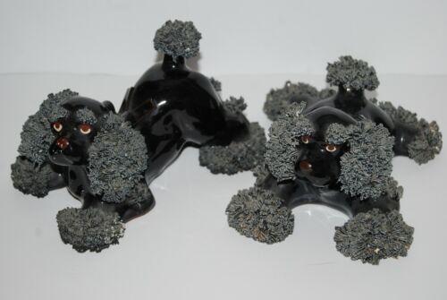 Spaghetti Ceramic Dogs Spaniels Vintage   LARGE