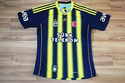 FENERBAHCE TURKEY HOME FOOTBALL SHIRT JERSEY 2013-2014 KIDS BOYS YOUNG 13-14Y L image