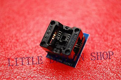2pcs Sop8 Turn Dip8 Soic8 To Dip8 Ic Socket Programmer Adapter 150mil A063