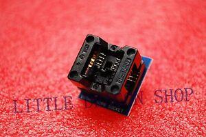 SOP8 turn DIP8 SOIC8 to DIP8 IC socket Programmer adapter 150mil A063