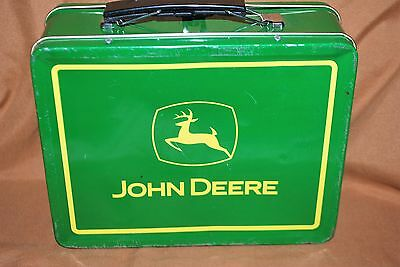 Vintage Metal John Deere Lunch Box Turtle Trouble Item # 22002 Free Shipping