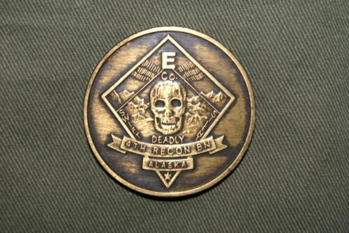 USMC , Recon , Force Recon , Reconnaissance , Coin , United States Marine Corps