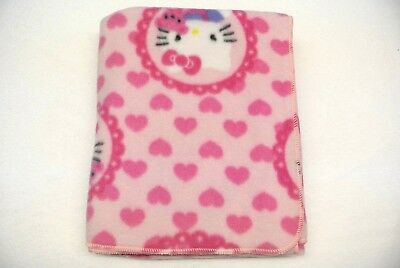 Hello Kitty Hearts Baby Blanket Toddler Can Be Personalized 28x44 ](Personalized Baby Stuff)