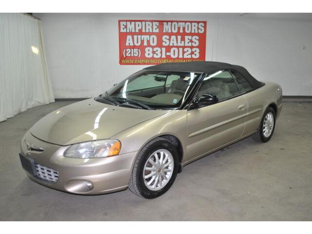 2002 Chrysler Sebring For Sale