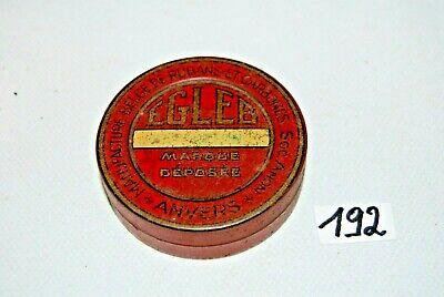 C192 Boite publicitaire en métal - EGLEB