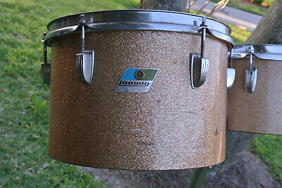 "1972 Ludwig CLASSIC 12"" CHAMPAGNE SPARKLE MELODIC TOM for YOUR DRUM SET!  #Z263"