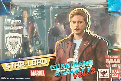 S.H Figuarts Star-Lord & Explosion Guardians of the Galaxy 2 Figure Set Bandai