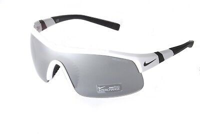 Nike Show X1 EV0617 101 White Black Grey Silver Flash Max Outdoor Tint Lens