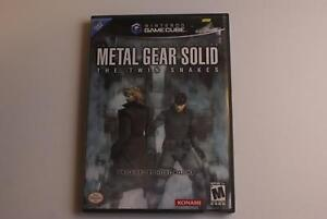 Metal Gear Solid Twin Snakes - Gamecube/Wii Game - Great Action!