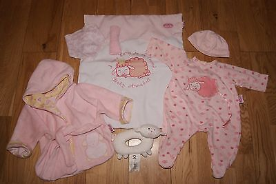 **ADORABLE** BABY ANNABELL DOLLS CLOTHES BEDTIME BUNDLE