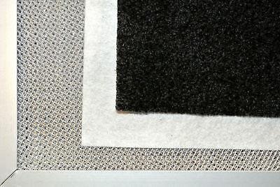 acrylfettfilter Filtre hotte DE cuisinière 50x60cm peut être Coupé FILTRE Blanc