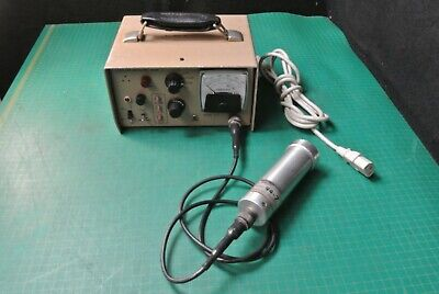 Ludlum 177 W 44-7 Tube Probe Geiger Radiation Survey Meter Abg