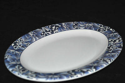 12 Pc New Melamine Lcp02090 L 9 Oval Dinner Plate 9 X6-38 Lotus Pattern