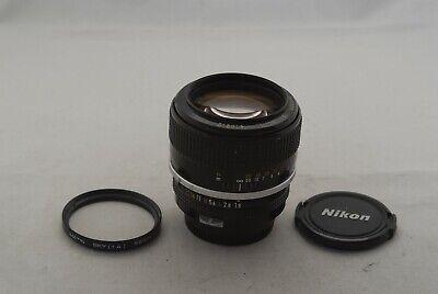 Nikon Manual Focusing 85mm f/1.8 Lens in Exc Cond