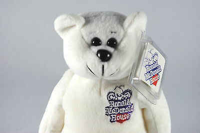 USA RONALD McDonald House Collectable Beanie Bear in South California Livery