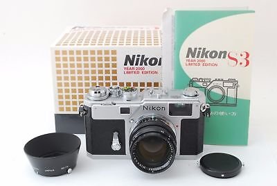 как выглядит Brand New Unused Nikon S3 Silver Year 2000 Limited Edition Nikkor-S 50mm F1.4 фото
