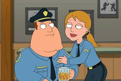 FAMILY GUY - TV SHOW PHOTO #21 - JOE AND NEW PARTNER, used for sale  Shipping to India