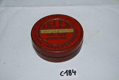 C184 Ancienne boite en métal - EGLEB ANVERS